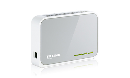 TP-Link TL-SF1005D Switch, 10/100Mbps, 5-Port RJ45