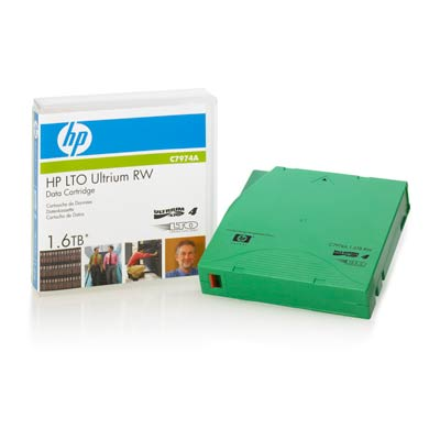 Hewlett-Packard Ultrium Tape Cartridge LTO-4, 800/1600GB, 1 Pack