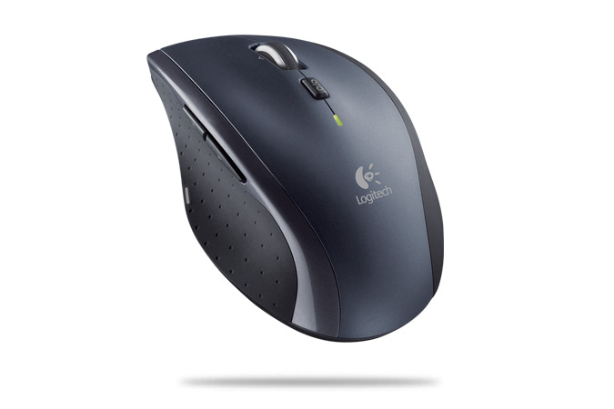 Logitech M705 Marathon, Optical (Laser) Mouse, Cordless, Grey/Black