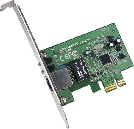 TP-Link TG-3468 Ethernet Adapter, 10/100/1000 Mbps, PCI Express
